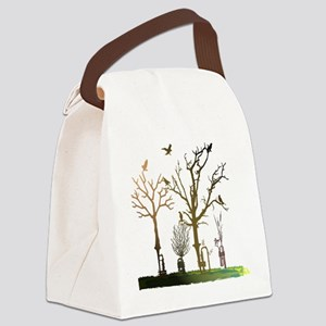 Natural Trumpets Canvas Lunch Bag