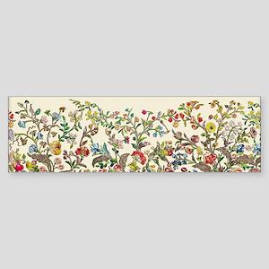 Rococo Court Mantua Bumper Sticker