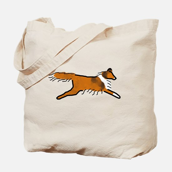 Sable Sheltie Tote Bag