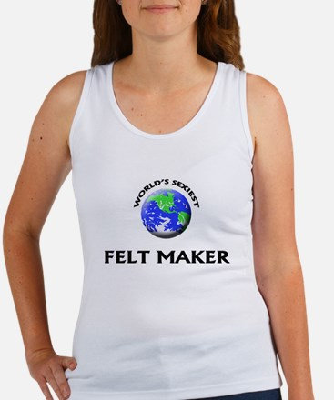 World's Sexiest Felt Maker Tank Top