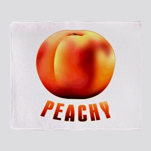 Just Peachy Throw Blanket