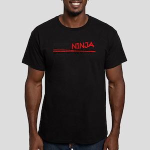 Job Ninja Social Worker Men's Fitted T-Shirt (dark