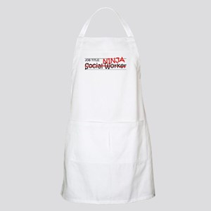 Job Ninja Social Worker Apron