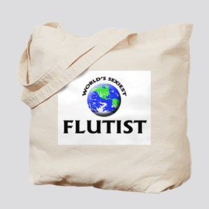 World's Sexiest Flutist Tote Bag