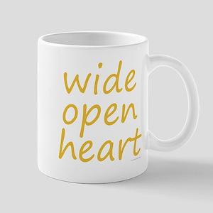 wide open heart Mug