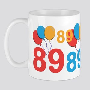 89 Years Old - 89th Birthday Mug