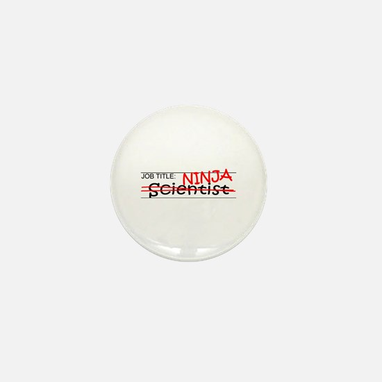 Job Ninja Scientist Mini Button