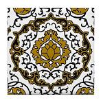 Eleonora di Toledo's dress Tile Coaster