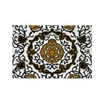 Eleonora di Toledo's dress Rectangle Magnet (100 p