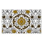 Eleonora di Toledo's dress Sticker (Rectangle 50 p