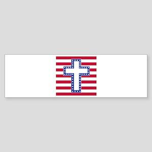 ABSTACT WHITE Sticker (Bumper)