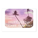 Enjoy little things Postcards (Package of 8)