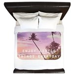 Enjoy little things King Duvet