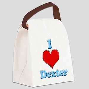 I Heart Dexter1 Canvas Lunch Bag