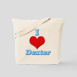 I Heart Dexter1 Tote Bag