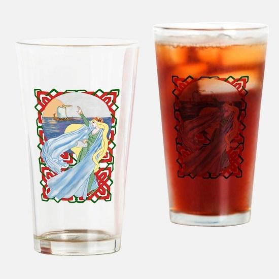 Farewell Viking Drinking Glass