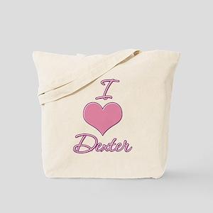 I Heart Dexter 5 Tote Bag