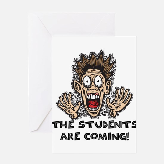 Funny Teacher Gifts Greeting Cards