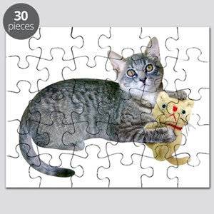 Kitten Stuffed Cat Puzzle