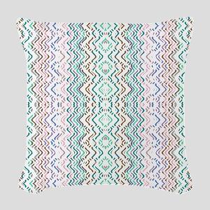 Mix #391 Woven Throw Pillow