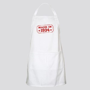 Made In 1934 Apron