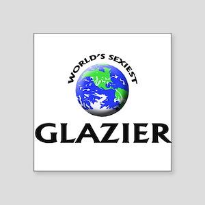 World's Sexiest Glazier Sticker