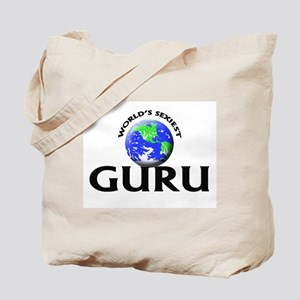 World's Sexiest Guru Tote Bag