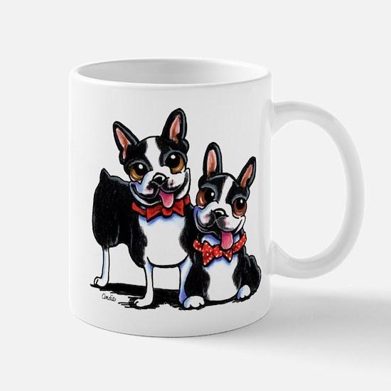 Bowtie Boston Terriers Mug