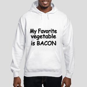 MY FAVORITE VEGETABLE IS BACON Hoodie