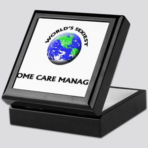 World's Sexiest Home Care Manager Keepsake Box