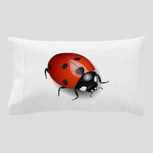 Shiny Ladybug Pillow Case