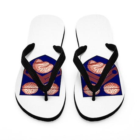 Brain Shields Flip Flops