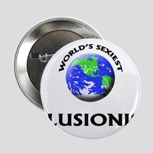 """World's Sexiest Illusionist 2.25"""" Button"""