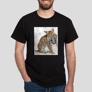 Bobcat Wild Cat Ash Grey T-Shirt