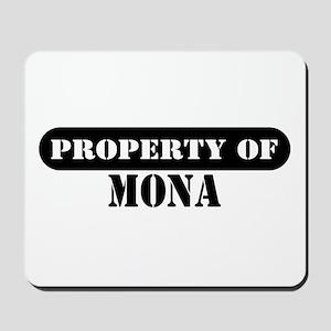 Property of Mona Mousepad