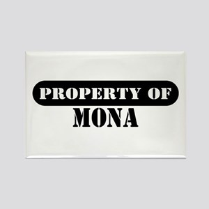 Property of Mona Rectangle Magnet