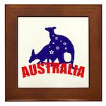 Australia Framed Tile
