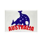 Australia Rectangle Magnet (100 pack)