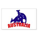 Australia Rectangle Sticker