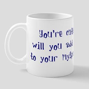 Myspace (Cute) Mug