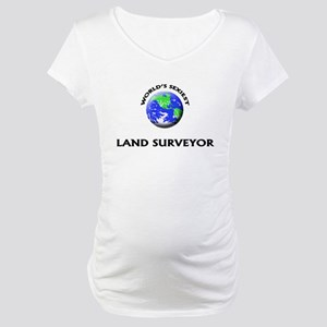 World's Sexiest Land Surveyor Maternity T-Shirt