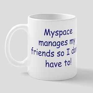 Myspace manages Mug