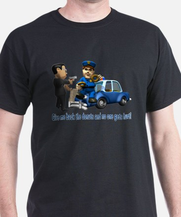 But Cops Love Donuts T-Shirt