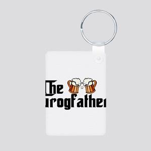 The Grogfather Aluminum Photo Keychain