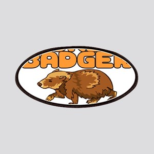 Oh No Honey Badger Patches