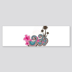 Tropical Wave Bumper Sticker