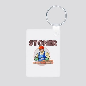 Stoner Aluminum Photo Keychain