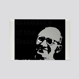 Enemy of the State - Rothbard Rectangle Magnet