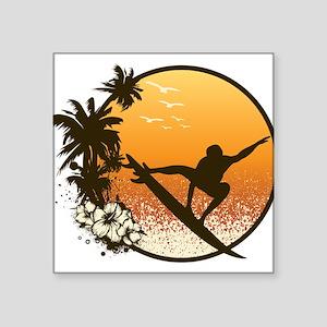 Tropics Surf Sticker
