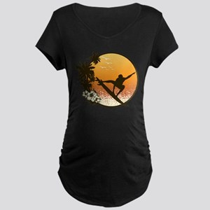 Tropics Surf Maternity T-Shirt
